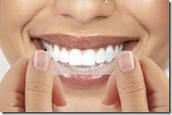 clareamento dental tiras