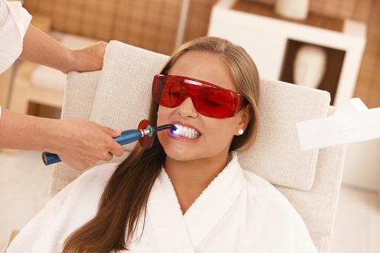 custo do clareamento dental laser