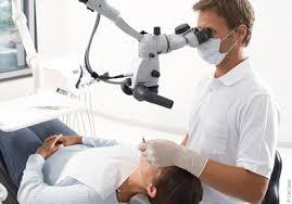 tratamento de canal microscopio